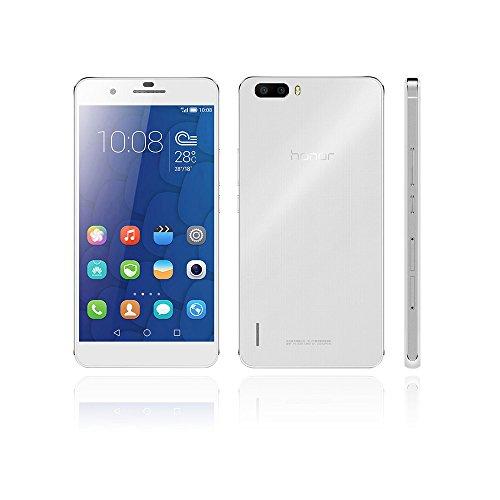 HUAWEI Honor 6 Plus PE-UL00スマートフォン (LTE対応)4Gスマートフォン TDD-LTE FDD-LTE スマートフォン Hisilicon Kirin 925 1.8GHz 3600mAh デュアル SIM Android 4.4 オクタコア 5.5インチ IPS 1920 * 1080スクリーン 3GB RAM+16GB ROM 8MP 8MP デュアルカメラ並行輸入品