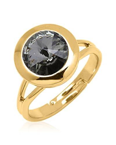 Swarovski Elements by Philippa Gold Anello Oneone Dot Ring