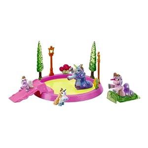 Schauen Sie sich Kundenbewertung für Filly Ice Unicorn - Spielset mit Arena und 4 Eislaufffeen