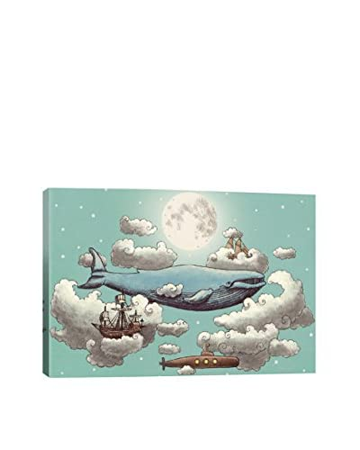 Terry Fan Ocean Meets Sky #2 Gallery-Wrapped Canvas Print