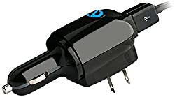Naztech N321 Micro USB Car Charger - Retail Packaging - Black