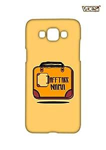VDESI Designer Matte Back Cover For Samsung Galaxy E7-11570174