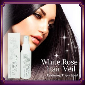髪にスプレーしてわずか3分で縮毛補整級のツヤツヤストレート美艶髪に
