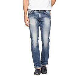 Spykar Men Denim Blue Jean (38)