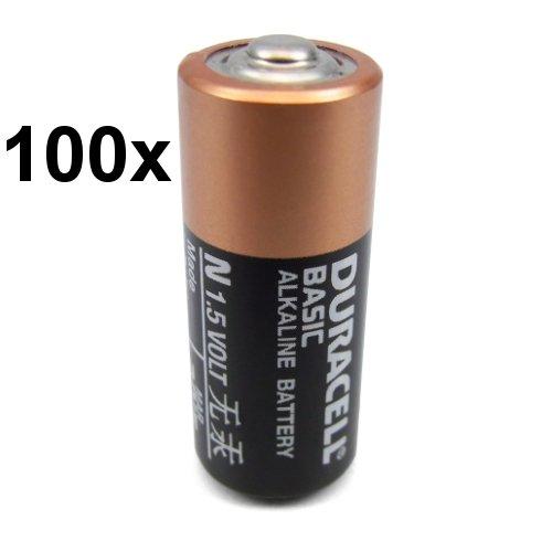 100 x Duracell-pile alcaline-n/lR1 lady mN9100 910A version! de substances polluantes telles que le cadmium ou au mercure