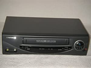 Daewoo Vcr Player Video Player Recorder Vcr Vhs 4 Head