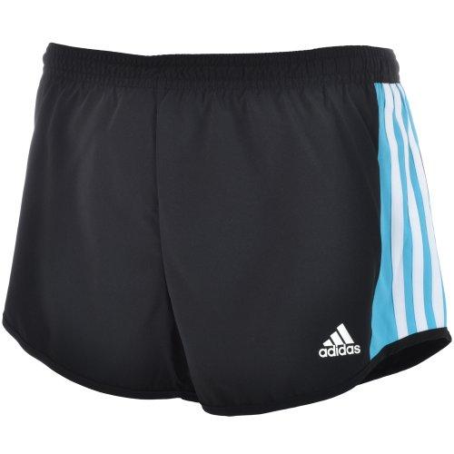 Adidas Womens Essesntial Mf Running Fitness Shorts - Black - O59819