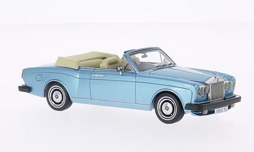 rolls-royce-corniche-dhc-met-hell-blau-rhd-1977-modellauto-fertigmodell-neo-143