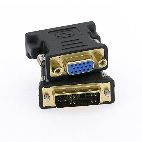 InstallerParts DVI-A Male (12+5) / VGA (DB15HD) Female Adapter Gold Plated (Div D To Vga compare prices)