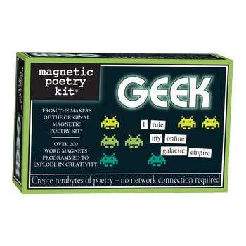 Geek Magnetic Poetry Kit