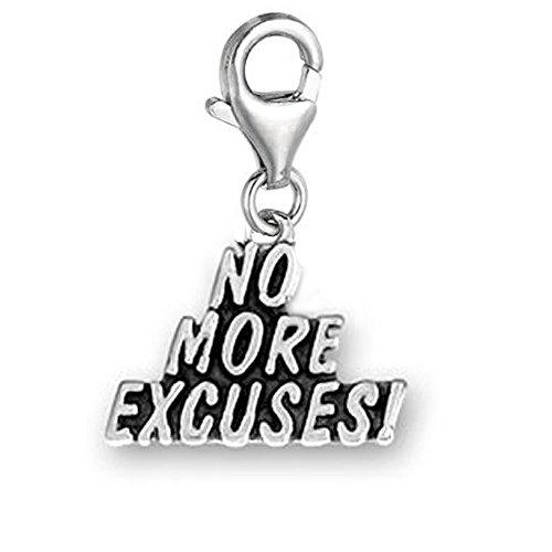 SEXY SPARKLES Clip No Excuses More-Ciondolo Charm pendente, per gioielli con chiusura a moschettone