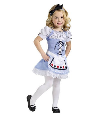 Alice Child Toddler Costume 24M-2T - Toddler Halloween Costume