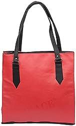 Gracetop Women's Handbag (Red) (Fle-Red)