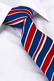 Ultimate Pure Silk Striped Woven Tie