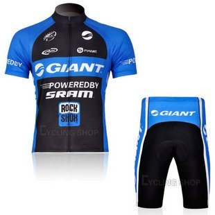 New Tour de France GIANT Racing Team Radtrikot Kurzarm Set Stop-Produktion