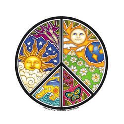 Peace Window Decal