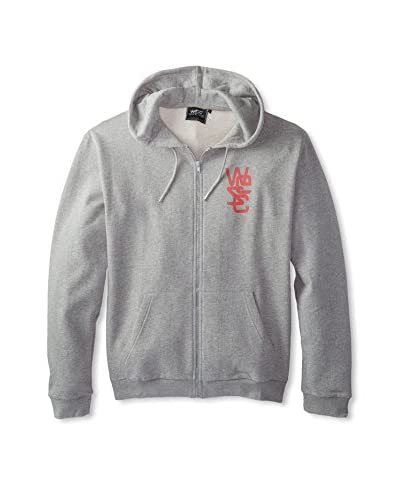 WeSC Men's Overlay Zip-Up Hoodie