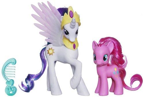 My Little Pony Kristall Prinzessinnen Spielset A2656 – Prinzessin Celestia & Pinkie Pie als Weihnachtsgeschenk