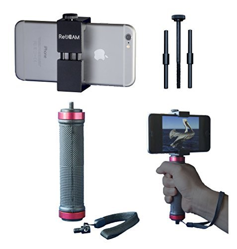 reticam-smartphone-tripod-mount-with-hand-grip-all-metal-heavy-duty-hand-held-stabilizer-and-tripod-