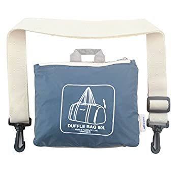 Lightweight Foldable Gym Duffel Bag for Sports, Travel Carry On Folding Luggage 2