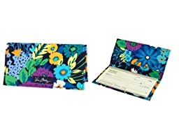 Vera Bradley Checkbook Cover in Midnight Blues