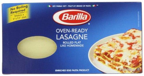 Barilla Oven Ready Lasagne Pasta, 9 Oz, 4 Count