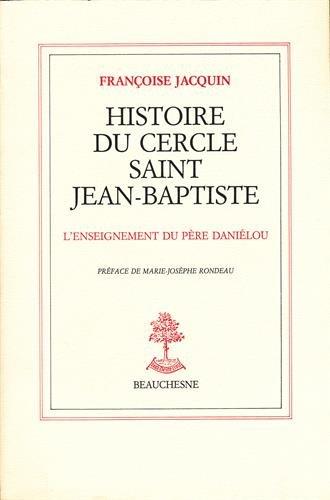 Histoire du cercle Saint Jean-Baptiste