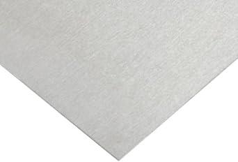 6061 Aluminum Sheet, Unpolished (Mill) Finish, T6 Temper, Standard Tolerance, Inch, AMS QQ-A-250/11/ASTM B209