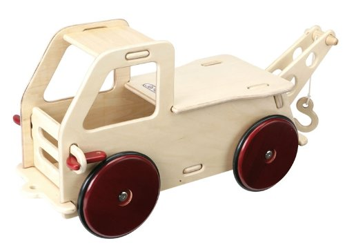 HABA Moover Baby Truck, Natural Wood - 1