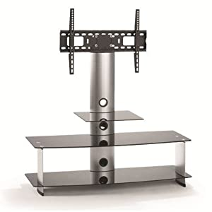 Buying Guide of  TV Stand Base Integrated Mount Shelf Stand 26″ 32″ 36″ 37″ 40″ 42″ 46″ 50″ 55″ Game Video Audio System