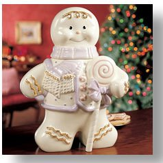 Lenox Gingerbread Man Cookie Jar