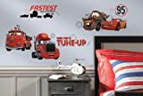 (10x18) Cars - Friends to the Finish Peel and Stick Wall Decals