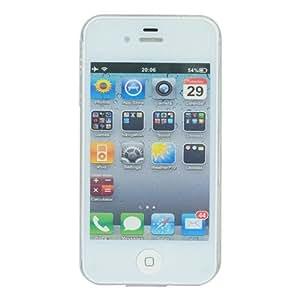 Stylish Zodiac Flash Light Hard Shell Back Cover Case for iPhone 4 / 4s - Scorpio