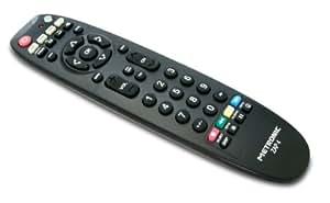 Metronic TCDE ZAP4 TV/TNT/DVD/AUX 495391 Télécommande Universelle Noir