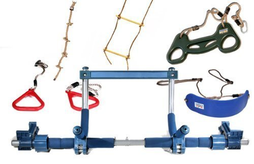 Buy Bargain Gorilla Gym Kids Deluxe with Indoor Swing, Plastic Rings, Trapeze Bar, Climbing Ladder, ...
