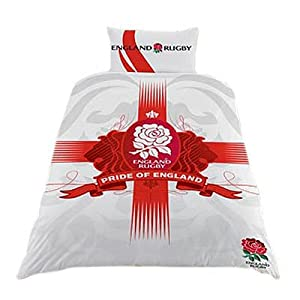 England rugby duvet cover bedding set single large for Crest home designs bedding