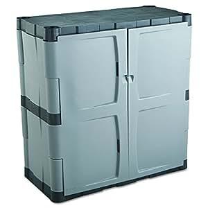 rubbermaid resin storage cabinet base