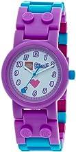 LEGO 8020165 - Reloj para niños, diseño Friends Olivia, multicolor