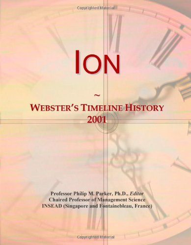 Ion: Webster'S Timeline History, 2001