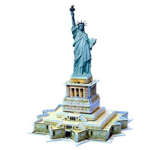 Jigsaw Puzzle 3D di Statua della Libertà 22 Pezzi Giocattoli Nuovo