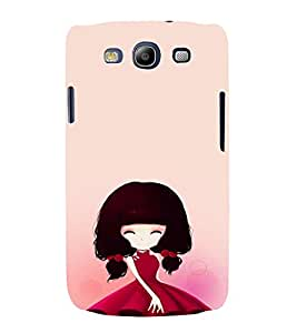 EPICCASE Beauty girl in Pink Mobile Back Case Cover For Samsung Galaxy S3 Neo (Designer Case)