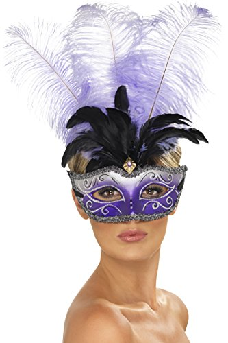 Smiffys - Masque Venitien Violet