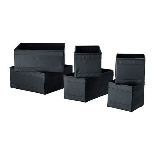 ikea-skubb-box-set-of-6-black
