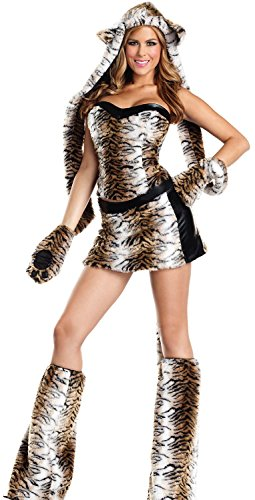 [Anmengte Halloween Masquerade Party Cosplay Costume Cute Animals (M, LC8716)] (Abba Jumpsuit Costume)