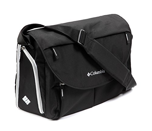 columbia outfitter messenger diaper bag black luggage. Black Bedroom Furniture Sets. Home Design Ideas