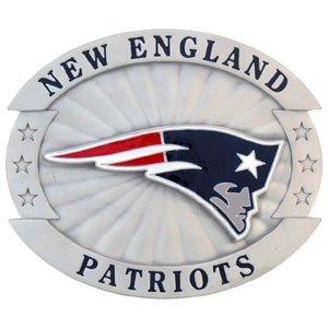 New England Patriots Oversized Belt Buckle - NFL Football Fan Shop Sports Team Merchandise