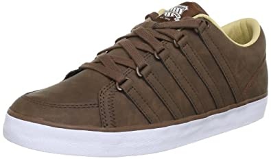 K-Swiss  GOWMET II P VNZ Trainers Mens  Brown Braun (Bison/White) Size: 41.5 EU /7.5 UK