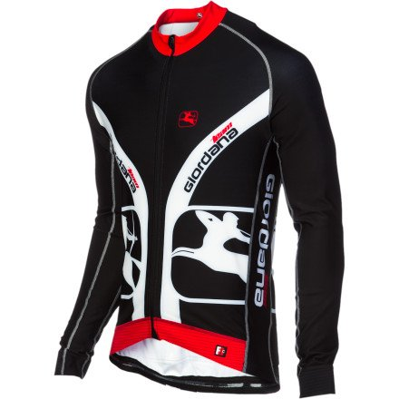 Buy Low Price Giordana Trade FormaRed Carbon Custom Long Sleeve Men's Jersey (B009DMT7RI)