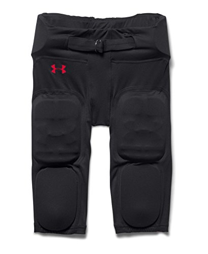 Under Armour Big Boys' UA Integrated Vented Football Pants Youth Medium Black