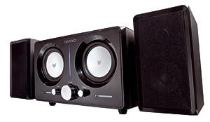 Bazoo 2.2 Lautsprecher mit 3,5 mm Klinken-Anschluss schwarz